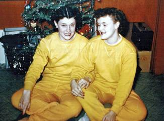Maudie and Mae, December 1953