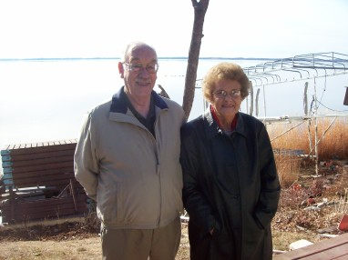 2006, Jan. 26, Howard and Carol, Spirit lake