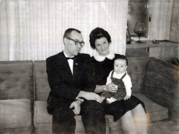My first Christmas, 1962